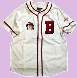 BETTY BOOP  ベースボールシャツ