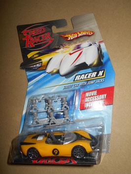 スピード・レーサー HOT WHEELSミニカー  「RACER X 」Street Car w/ Jump Jacks  1:64