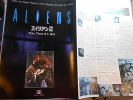 『エイリアン2』(Aliens)  日本版 プレスシート(1986年)