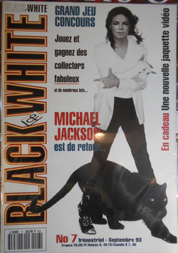 1993年MJファン雑誌(フランス)「BLACK & WHITE」NO.7