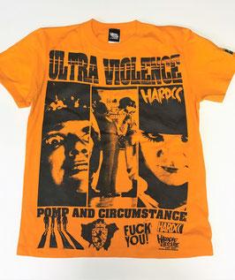 ULTRA VIOLENCE -High Def 2018  Tシャツ(ドルーグオレンジ)