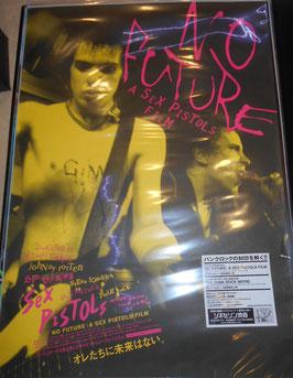 『NO FUTURE:A SEX PISTOLS FILM』 劇場版ポスター(2008年)