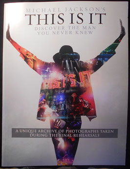 Michael Jackson 映画「This Is It」パンフレット(洋版)