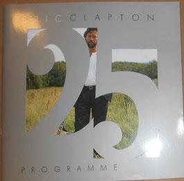 エリック・クラプトン・デビュー25周年記念来日公演パンフレット(1988年)