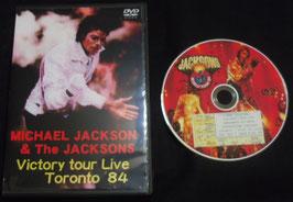 DVD:JACKSONS Victory Tour TORONTO 1984