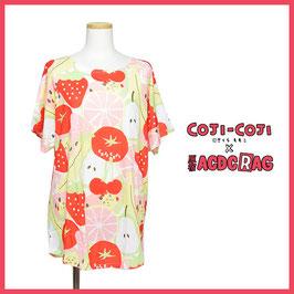 『コジコジ×ACDC』コラボ コジコジ フルーツ Tシャツ