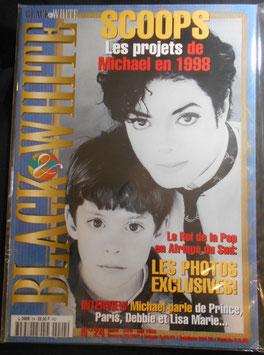 1998年MJファン雑誌(フランス)「BLACK & WHITE」NO.24
