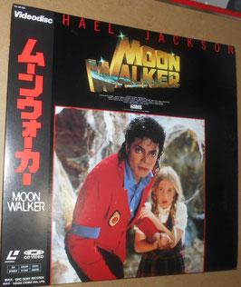 Michael Jackson MOONWALKER レーザーディスク国内盤(1989年)