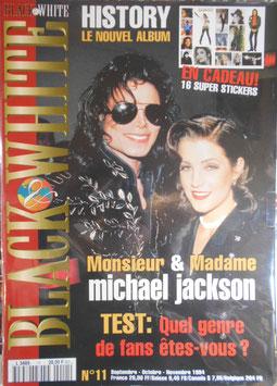 1994年MJファン雑誌(フランス)「BLACK & WHITE」NO.11