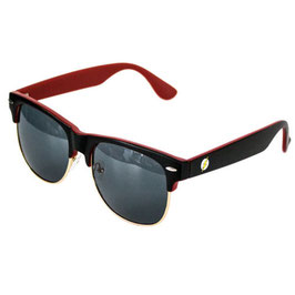 DC Comics Flash Half Frame Sunglasses w/ Case