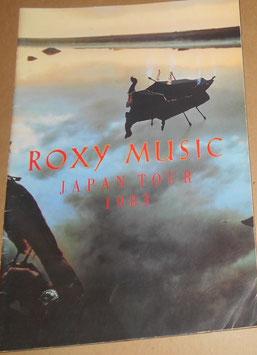 ロキシー・ミュージック JAPAN TOUR パンフレット(1983年)
