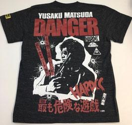 松田優作  最も危険な遊戯  Tシャツ