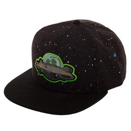 Rick And Morty Spaceship Black Snapback