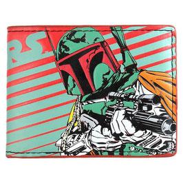 STAR WARS 2つ折り財布 ボバ・フェット