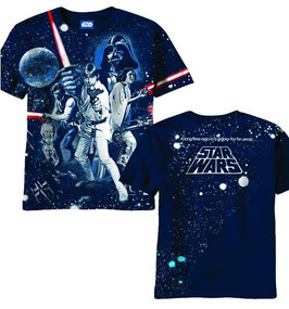 STAR WARS  WAR OF WARS AOP MENS TEE