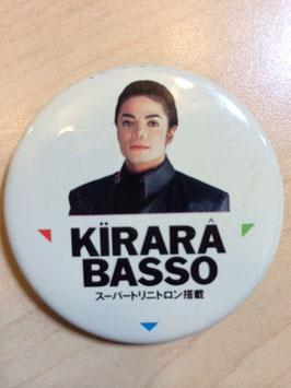 SONY Kirara Basso キララバッソ キャンペーン缶バッチ 1991