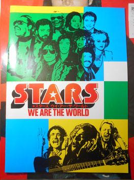 STARS・ ウィ・アー・ザ・ワールド  映画 パンフレット(1986年)