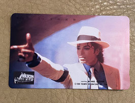 Michael Jackson  MOONWALKER  テレフォンカード(スムースクリミナル)