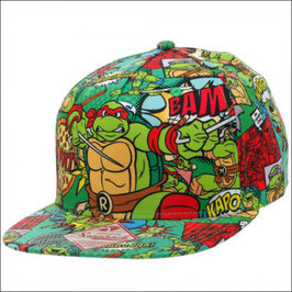 Teenage Mutant Ninja Turtles  All Over Sublimated Snapback Cap