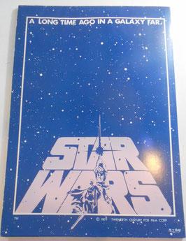 STAR WARS ユーカリ社製 便箋ノート(1977年)