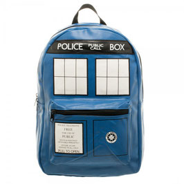 Dr. Who Tardis PU Backpack
