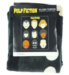 Miramax Pulp Fiction Plush Throw Blanket