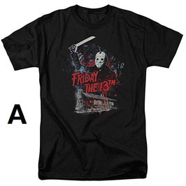 『FRIDAY THE 13TH』(13日の金曜日)Tシャツ(TREVCO社)
