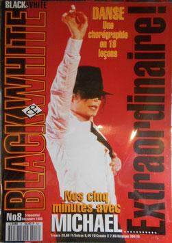1993年MJファン雑誌(フランス)「BLACK & WHITE」NO.8