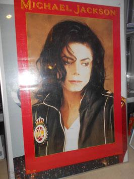 MICHAEL JACKSON DANGEROUSツアー OFFICIALポスター(1992年)