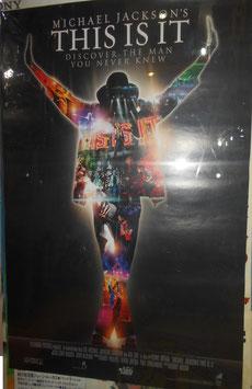 映画-Michael Jackson「THIS IS IT」 タワレコ限定劇場版ポスター