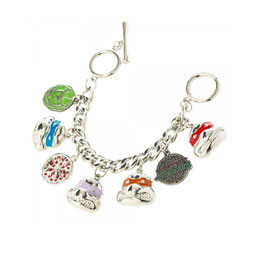 TMNT Teenage Mutant Ninja Turtles Charm Bracelet