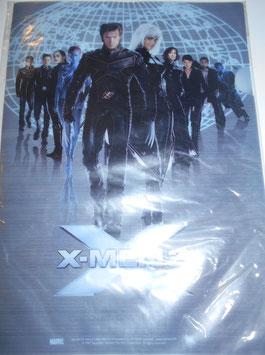 X-MEN2  クリアファイル(2003年)