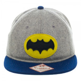 Batman 66 Wood Adjustable Flatbill Cap