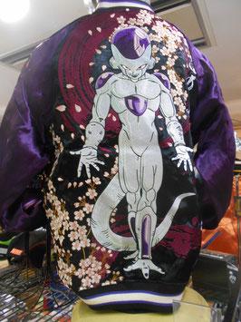 ドラゴンボール  フリーザ 宇宙最恐 刺繍 和柄 スカジャン