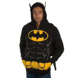 Batman Suit Up Hoodie with Cape