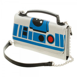 Star Wars R2D2 Inside Out Crossbody Wallet Clutch