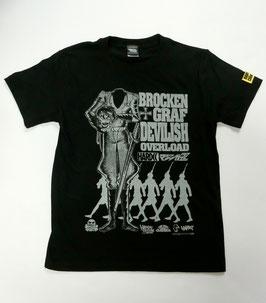 ブロッケン伯爵と鉄十字軍団  Tシャツ