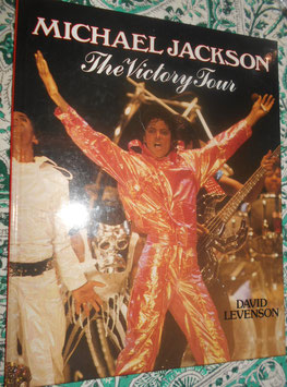 "Michael Jackson ""The Victory Tour"" book by David Levenson(洋版)"