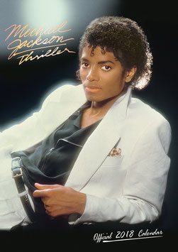 Michael Jackson Official 2018 Calendar - A3 Poster Format(A)