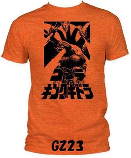 ゴジラ 対 キングギドラ  Tシャツ(逆輸入版)