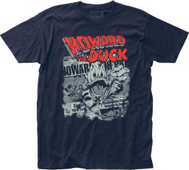 HOWARD THE DUCK  NEWSPAPER  Tシャツ