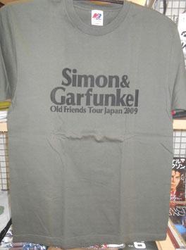 サイモン&ガーファンクル 2009年 Old Friends日本公演ツァーTシャツ