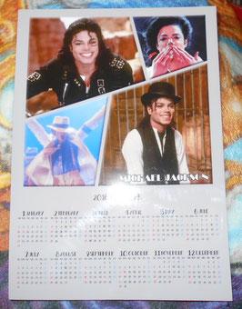 MJ マグネット カレンダー