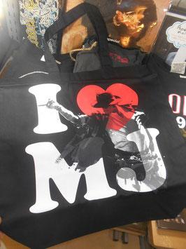 Michael Jackson  I ♡ MJ  Tote Bag(BEAVADO)