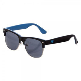 Superman Logo Half Frame Sunglasses w/ Case