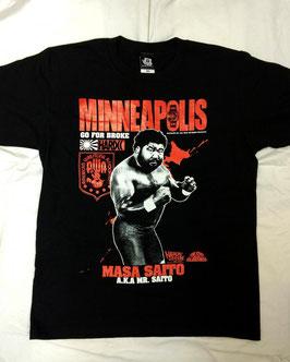 MINNEAPOLIS (マサ斎藤) Tシャツ