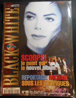 1999年MJファン雑誌(フランス)「BLACK & WHITE」NO.28