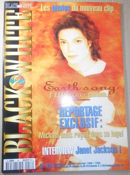 1995年 MJファン雑誌「BLACK & WHITE」NO.16