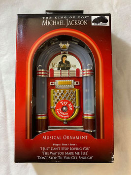 MJ JUKEBOX MUSICAL Ornament Lights And Plays 3 Songs