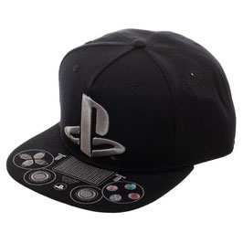 Playstation Logo Snapack with Emboridered Control Buttons on Bill